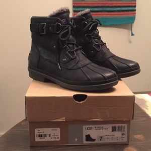 f533f14e207 NWT Ugg Cecile Winter Boots Size 7 Waterproof NWT